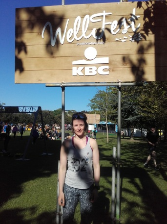 Me at WellFest!