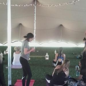 Yoga Tent 2